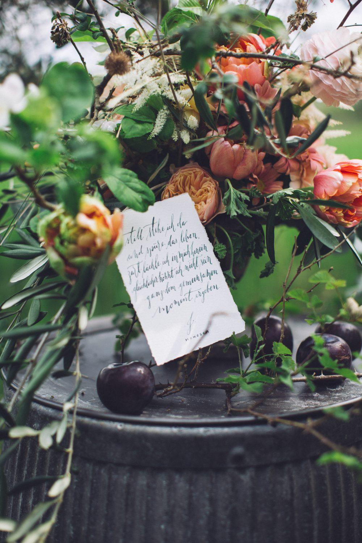 kalligrafie gedicht poesie handlettering hochzeit wedding