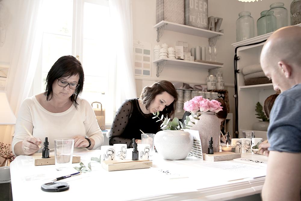 18 Kalligraphie Workshop Jeanette Mokosch | Villa Lotta (Lisa Jagenteufel) | Photograph (c) Maria Weiss