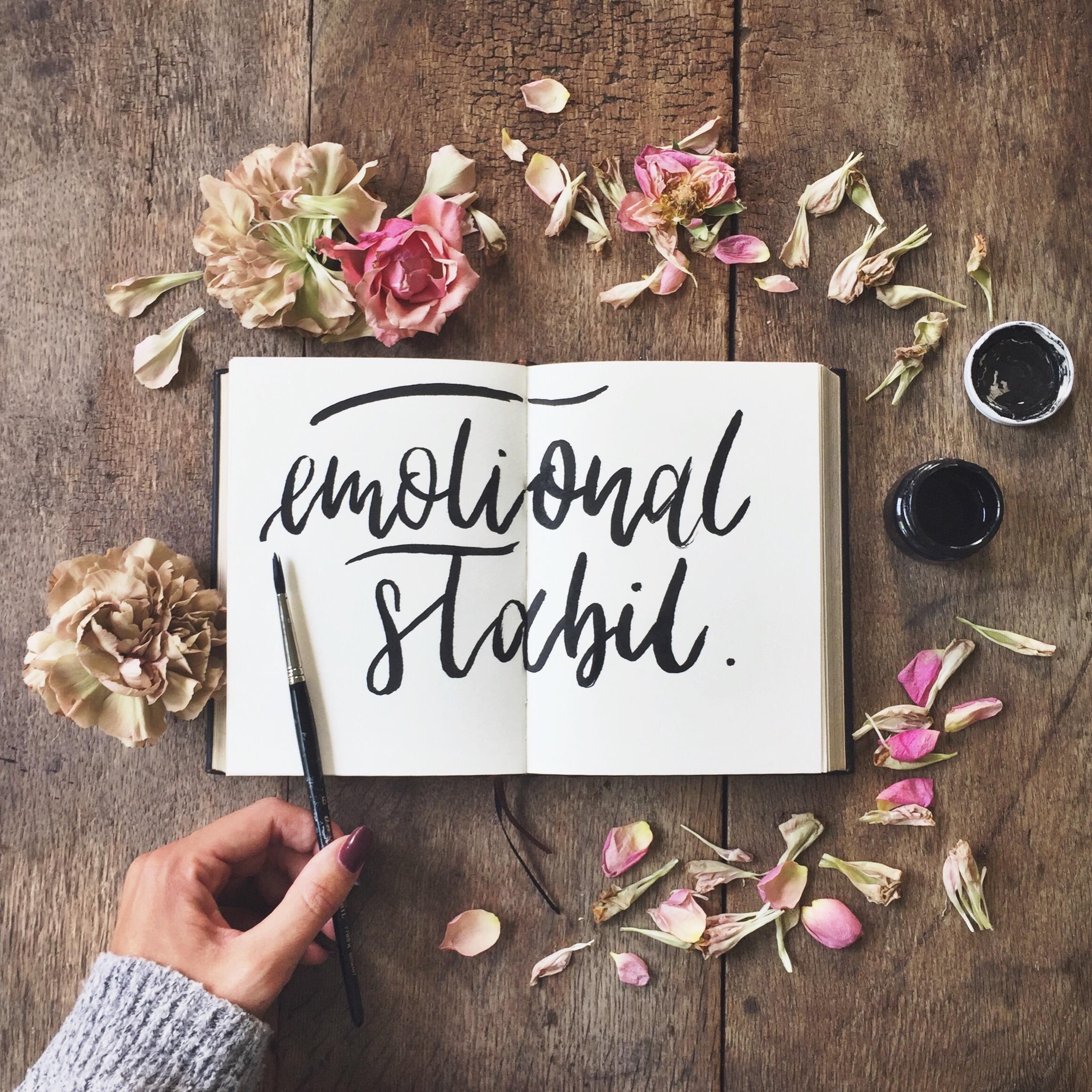 Gefühle und emotionale Stabilität - diese 7 Dinge solltest Du über Emotionen wissen