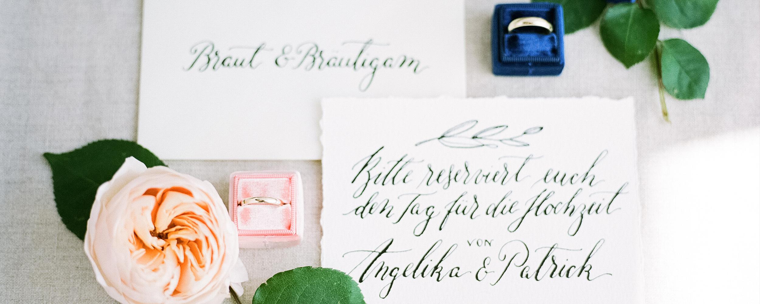 Kalligrafie Shop Einladungen