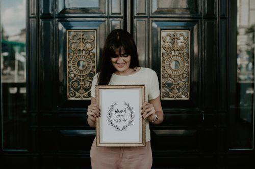 Kalligrafie Kunstdruck Fine Art von Jeannette Mokosch