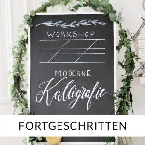 Kalligraphie lernen Workshop Moderne Kalligrafie für Fortgeschrittene