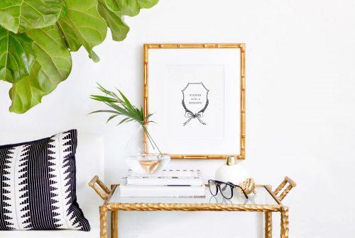 Kalligraphie Kunstdruck Fine Art von Jeannette Mokosch