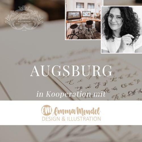 Workshop Kalligraphie Kurs Anfänger Augsburg Bayern München Kalligrafie Hand Lettering Brushlettering Schönschrift Buch Füller Feder Moderne Kalligrafie