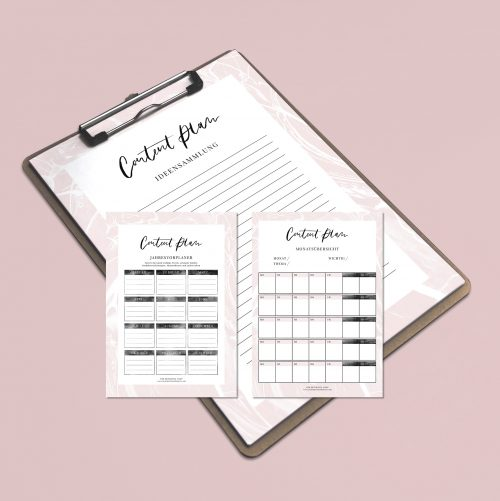 Content Plan Editorial Calendar Kalender Redaktionsplan Content Marketing Content Planning