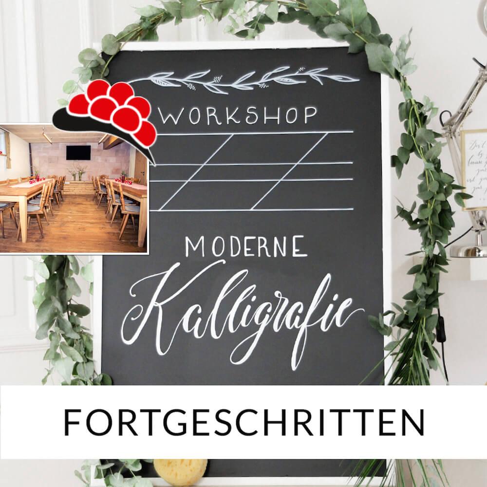 Kalligrafie lernen für Fortgeschrittene in Süddeutschland