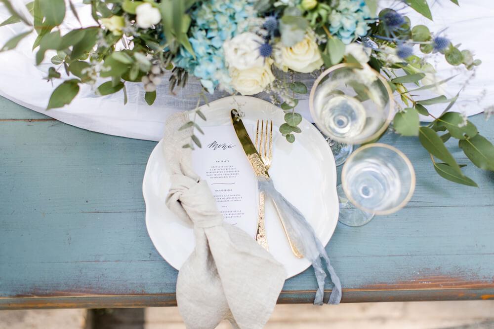 Kalligraphie Kalligrafie Luxus Einladung Hochzeitseinladung Strandhochzeit Meer günstig text ausgefallen spitze Vintage drucken sprüche diy set kraftpapier gold