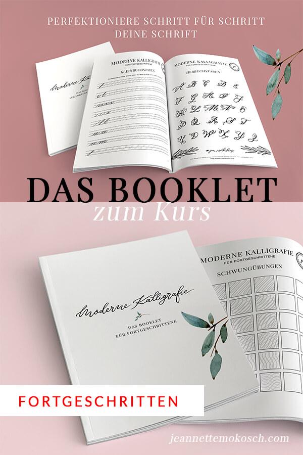 Pdf Download Kalligraphie übungsheft Booklet Für Fortgeschrittene