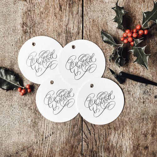 Heilig Abend Weihnachten Geschenk Beschäftigung Fragen Wertschätzung Kinder Familie Tischdekoration Idee Karte
