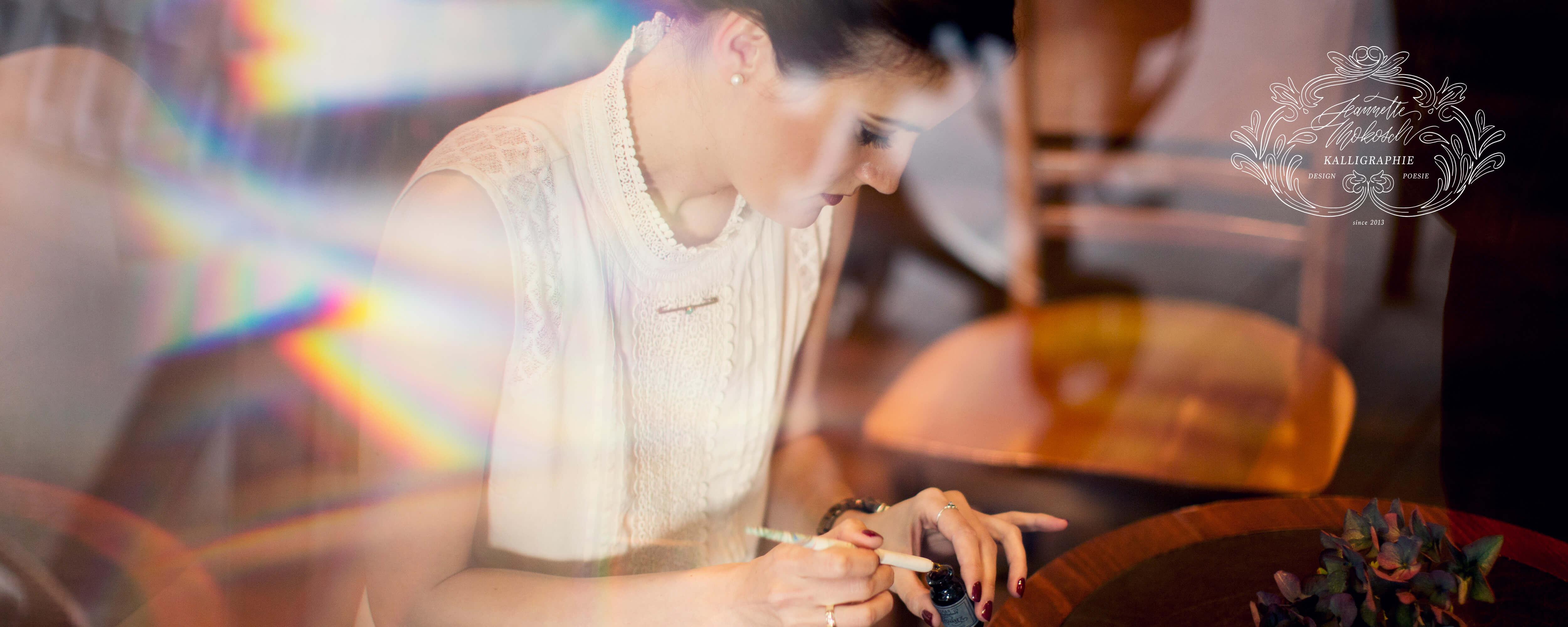 Jeannette Mokosch Kalligraphie Kalligrafie Hand Lettering