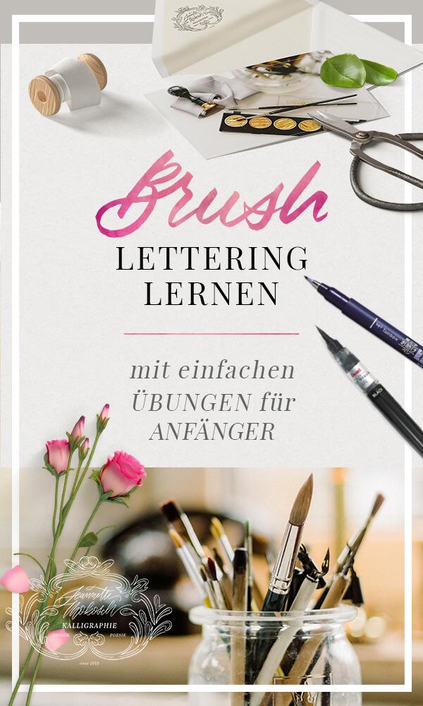 Brush Lettering Hand Lettering
