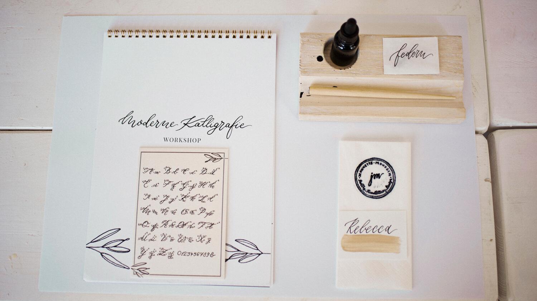 Kalligrafie Workshop Kalligraphie Hand Lettering Kurse Schönschrift Kalligraphie lernen Hannover Bremen Hamburg Augsburg Stuttgart München Düsseldorf Niedersachsen Hannover