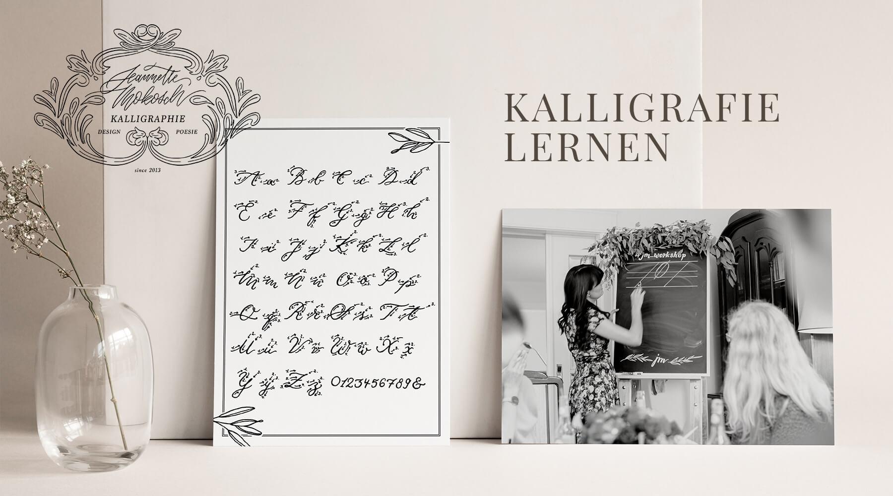 Kalligrafie lernen Kalligraphie Lettering