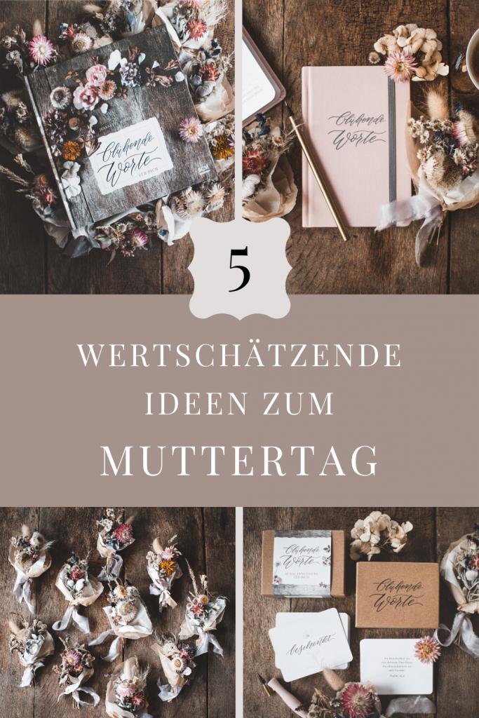 5 Wertschätzende Ideen zum Muttertag / Geschenk / SCM-Verlag