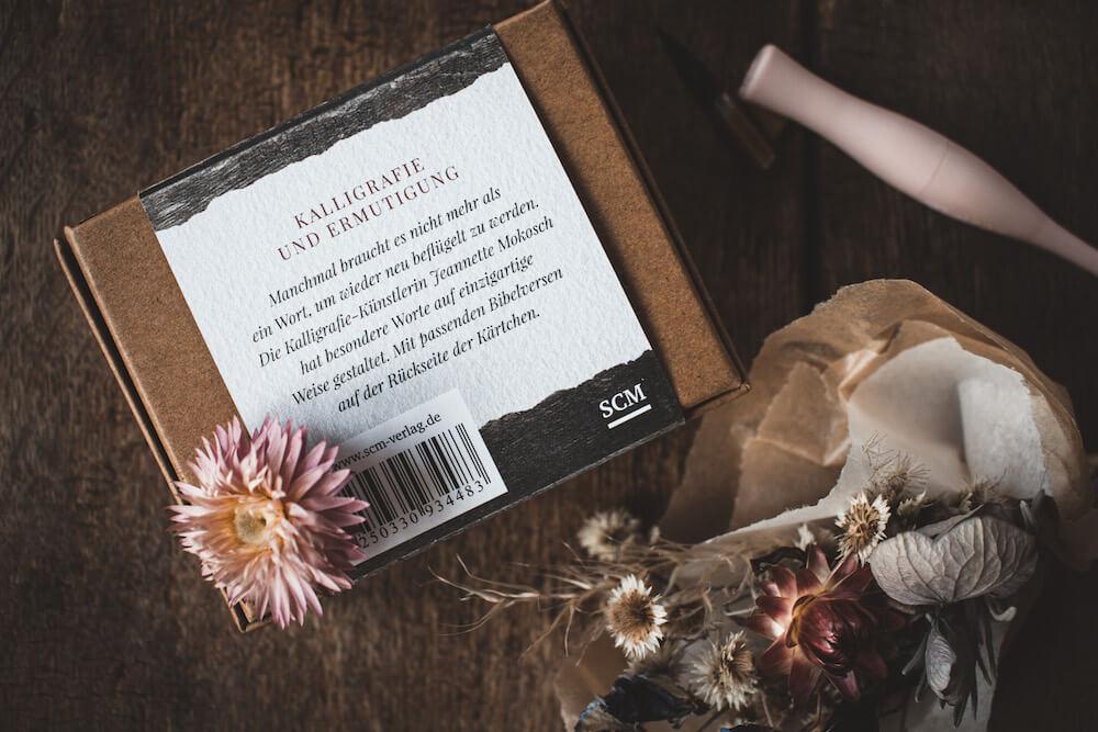 Ermutigung Hoffnung Geschenk Wertschätzung Corona Glaube Bibelvers Bibel