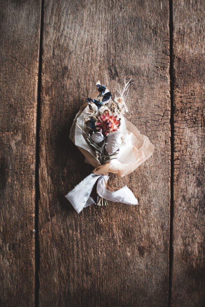 Trockenblumen Strauß Mini