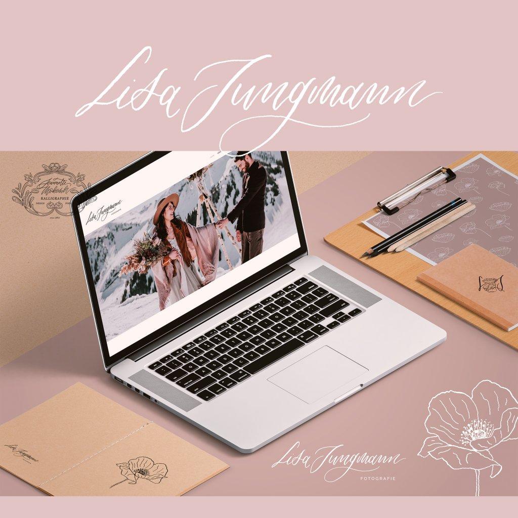 Logo Logodesign Kalligrafie Kalligraphie Handlettering Lettering Handschrift Feder