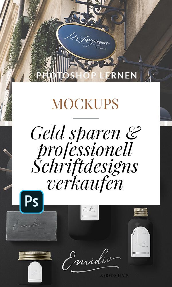 Mockup Photoshop Kalligrafie Kalligraphie