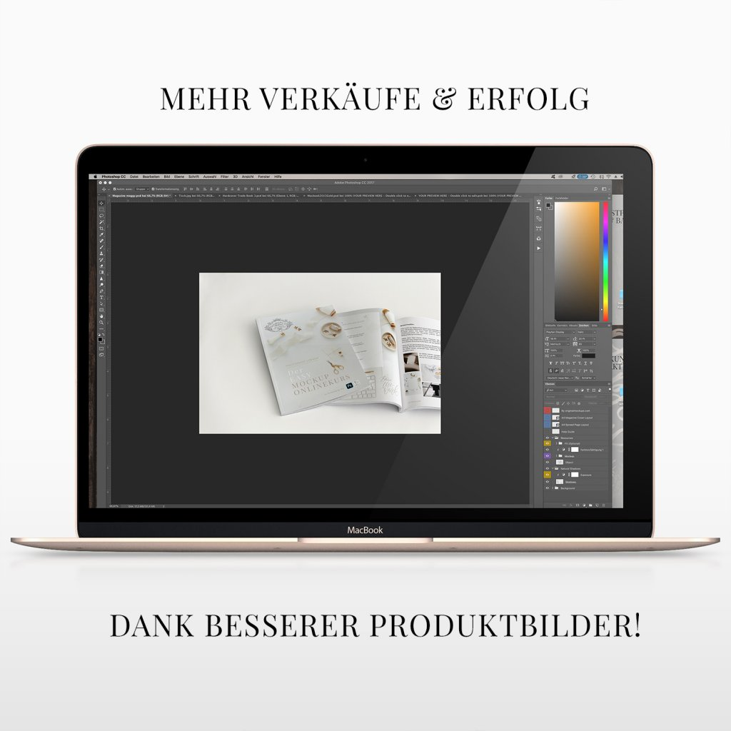 Mockup free erstellen lernen Photoshop Tutorial Onlinekurs Mockups kaufen website flyer iphone generator book template photos