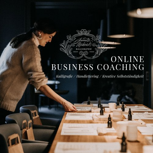 Online Coaching Selbstständigkeit Handlettering Kalligrafie Business Onlineshop Website Online Marketing kreativ
