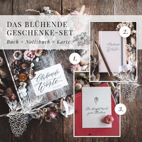Weihnachtsgeschenk Geschenkidee floral Mama Frauen Freundin