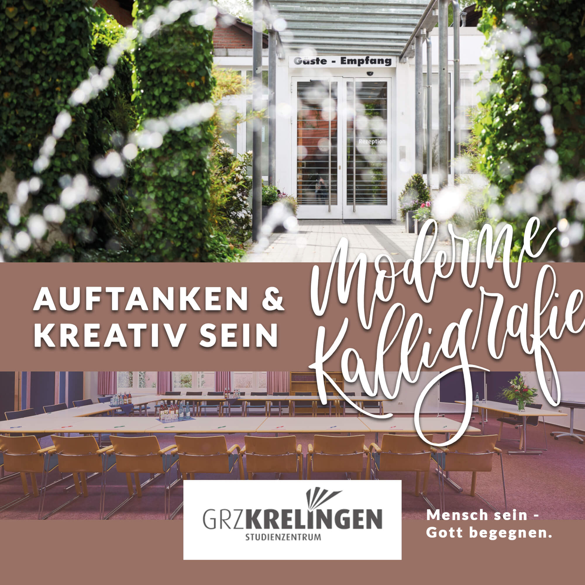 Moderne Kalligraphie Workshop im Kliemannsland Hamburg Bremen Krelingen Lüneburger Heide GRZ Workshops